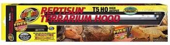"Reptisun T5 Ho Terrarium Hood 24"" - 51.62"