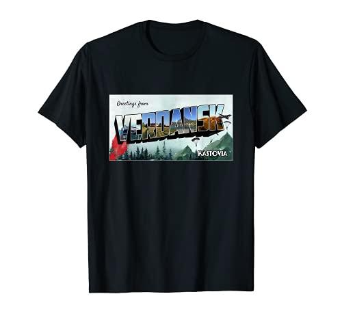 Bienvenido a Verdansk - Gaming Gulag Warzone Verdansk Camiseta