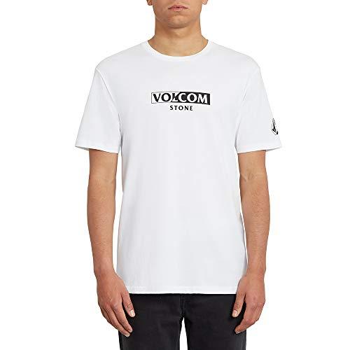Volcom Herren for Never BSC SS T-Shirt, White, M