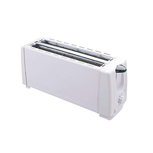 WZPG 1200W 4 rebanadas Tostadora automática, Máquina de Desayuno sándwich, Desayuno Herramientas de Cocina Hogar Pan Hornear Máquina Máquina