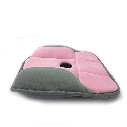 HMRWYL Canapé mémoire Mousse Belle Fesses Coussin de siège, Bureau étudiant Chaise Pads Respirant Confort décompression correctif,A