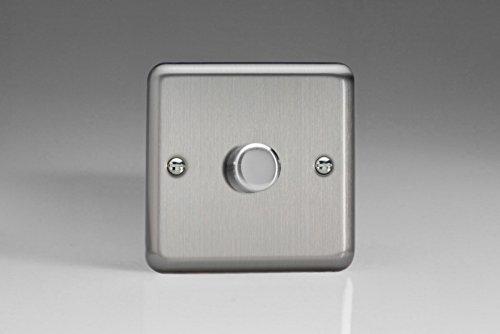 Varilight 1-Gang 2-Way Push-On/Off Rotary LED Dimmer Light...