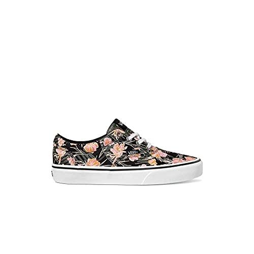 Vans Doheny, Zapatillas Mujer, Palm Floral Black White, 40 EU