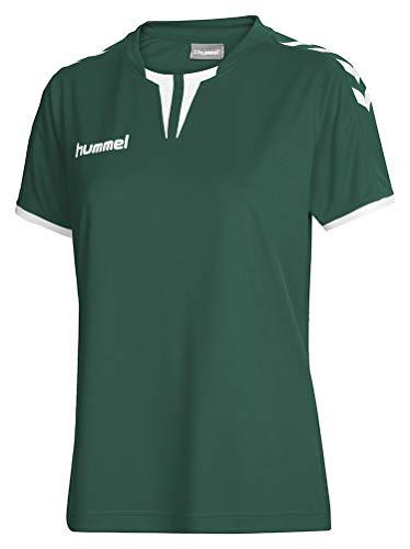 Hummel Damen Trikot Core Short Sleeve Jersey, Evergreen, XS