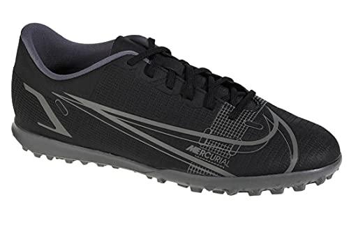 Nike Vapor 14 Club TF, Zapatillas de ftbol Unisex Adulto, Black Black Iron Grey, 45 EU