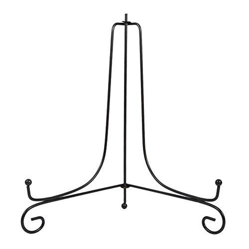 Vobor Art Iron Easel - Schwarzer klassischer Display-Ständer für Fotobuch Artwor(10in)
