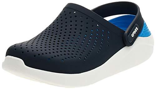 Crocs LiteRide Clog Zueco Unisex-adulto, Azul (Marineblau / Weiß), 45-46 EU