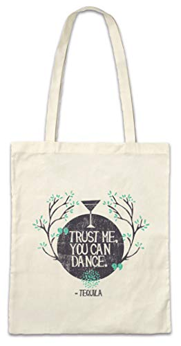 Urban Backwoods Trust Me You Can Dance Boodschappentas Schoudertas Shopping Bag
