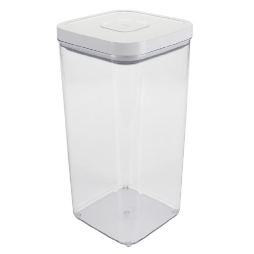 OXO 7100200 Airtight Pet Food Storage POP Container,White,5.8 Quart