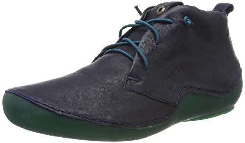 Think! Damen KAPSL_585060 Hohe Sneaker, Blau (Ocean/Kombi 82), 42.5 EU