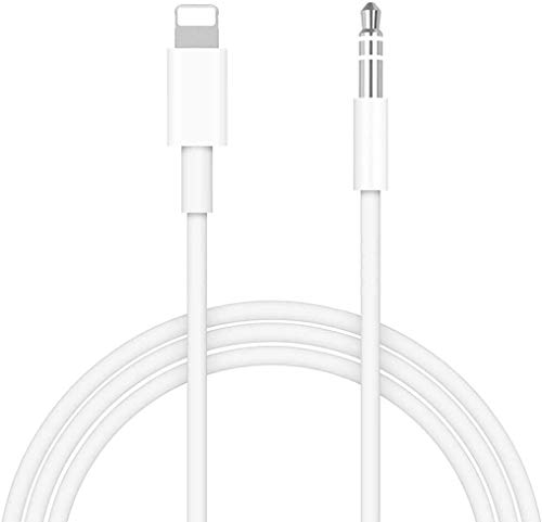 (Apple MFi Certified) Aux Cord for iPhone to Car,3.5 mm iPhone Aux Cord Adapter Male Aux Car Stereo Audio Cable Compatible with iPhone SE/11/11 Pro/XS/XR/X 8 7 iPad/iPod Support iOS 13(3.3Ft)
