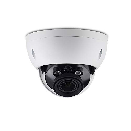 4MP PoE IP Camera Dome OEM IPC-HDBW4433R-ZS, 2.7mm~13.5mm Motorized Varifocal, 98ft IR Night Vision Outdoor CCTV Security Camera with H.265 Encod,120dB WDR,ICR,3D DNR,Micro SD Slot