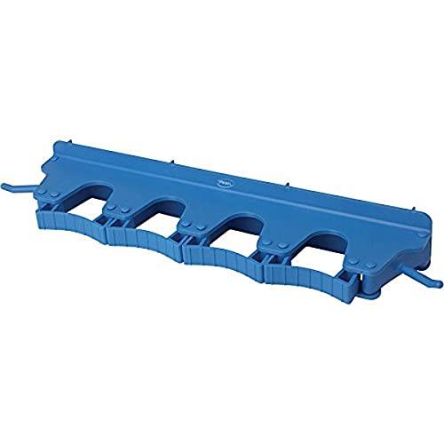 キョーワクリーン 本体 青 横幅:40cm Vikan(ヴァイカン)ブラケット 6個掛け 10183