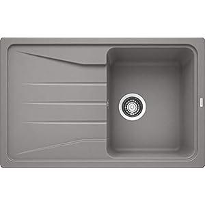 Blanco Sona 6S, cocina fregadero, SILGRANIT Puradur, antracita, reversible, 519664