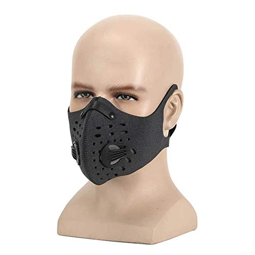 ACC Stofmasker, Activated Carbon Filter Dust Mask Training Riding Half Mask Deodorant Anti-halo Pollen Allergie Pm2.5 Stofmasker