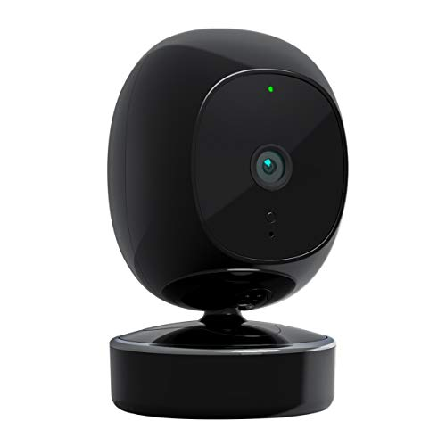 SimCam 1S Indoor Security Camera with AI Detection (Person & Pet), Facial Recognition, AI Home Automation, 2.4G&5G WiFi, 1080P Starlight Night Vision, 2-Way Audio