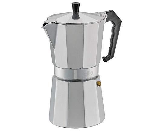 Cilio Classico Espressokocher, Aluminium, Edelstahl