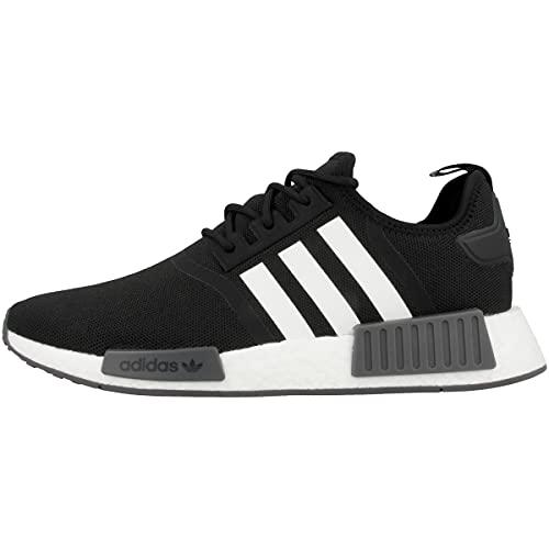 adidas Herren NMD_R1 Primeblue Sneaker, Core Black/Cloud White/Grey, 42 2/3 EU