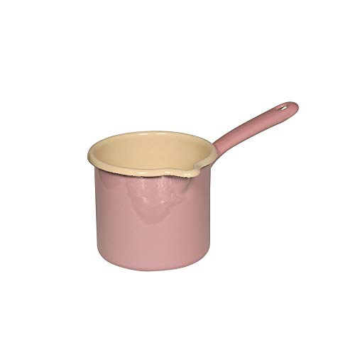 Riess 0285-006 Classic-Household Article Farb-/Pastell Milchtopf Ø 12 cm rosa