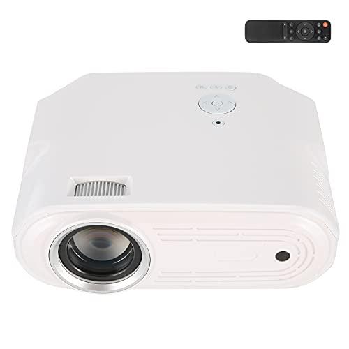 Proyector portátil, Flujo portátil del diseño 6000 LED del Mini proyector para el Uso en el hogar(Transl)
