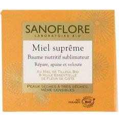 SANOFLORE MIEL SUPREME BAUME POT 50ML Envoi Rapid Et Soignée - Produits Bio Agree Par AB - (Prix Par Unité)