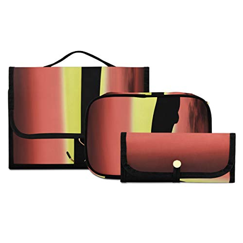 Toiletries Bag For Men Black Deer Digital Painting Toiletries Bag Washable And Foldable Travel Accessories Toiletry Bag Suitable For Travel Sports And Fitness Family Hotels Makeup