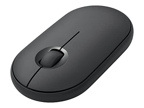 Mouse sem fio Logitech PEBBLE i345 Grafite para iPad