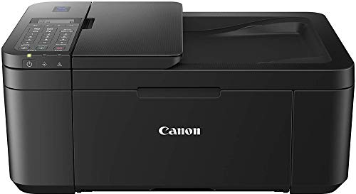 Canon E4270 All-in-One Ink Efficient WiFi Printer with FAX/ADF/Duplex Printing (Black)