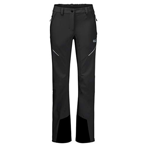 Jack Wolfskin Gravity Slope Pants Damen, Schwarz, 56