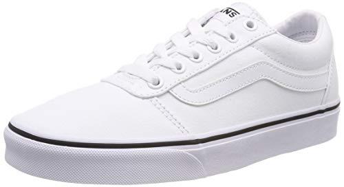 Vans Damen Ward Sneaker, Weiß ((Canvas) White/White 7hn), 35 EU