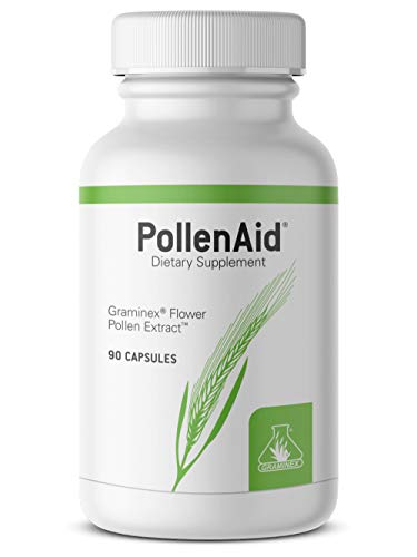 Graminex PollenAid Prostate Supplement: All Natural Prostate Support for Bladder Control & Urinary Tract Health, Rye Pollen Extract Made in USA to Help Relieve Pain & Boost Urinary Flow, 90 Capsules