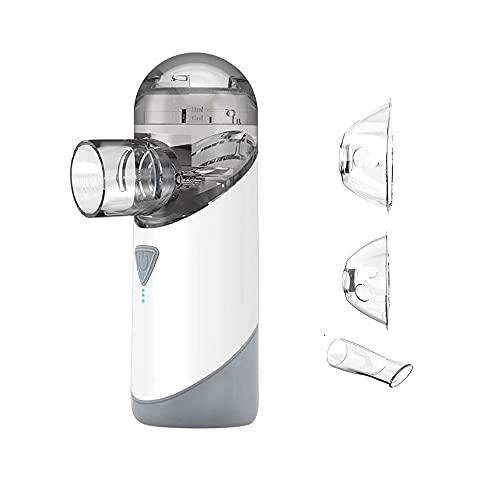 Nebulizador De Malla Portátil Nebulizador Recargable Impermeable Silent Niño Inhalador Nebulizador Portátil USB Mini Nebulizador Recargable