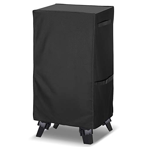 Electric Smoker Cover,king do way BBQ Cover,Square Smoker Cover 420D Heavy...