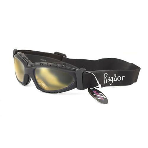 c07a8f9518 Rayzor Professional UV400 Black 2 In 1 Cycling - MTB Sunglasses   Goggles
