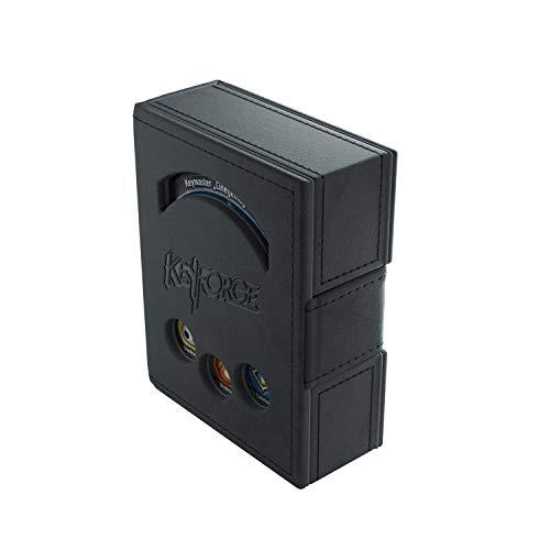 GAMEGEN!C GGS20006 KeyForge Deck Book Black, Schwarz