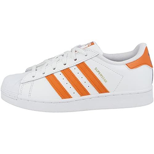 adidas Superstar C, Zapatillas Deportivas, FTWR White Blue Gold Met, 30.5 EU