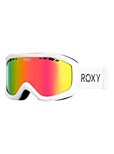 Roxy Sunset - Máscara Para Snowboard/Esquí Para Mujer Máscara Para Snowboard/Esquí, Mujer, bright white, 1SZ