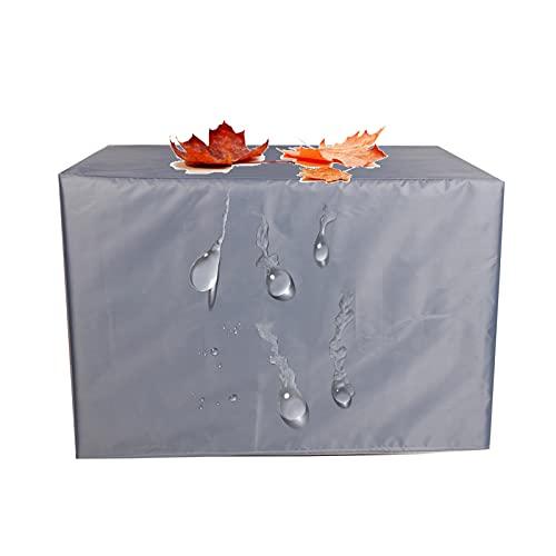 XIGG Funda para Muebles de Jardin Impermeable 45x40x25cm, Rectangular Funda Protectora Sofa Exterior, Funda para Mesas Resistente al Polvo Anti-UV, Funda Protectora Exterior a Prueba de Viento