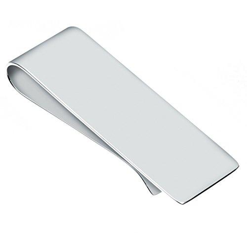 Geldscheinklammer, schlicht, Sterling-Silber