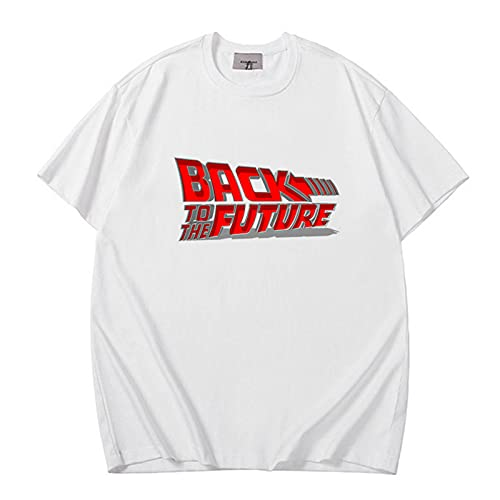 Longmen Regreso al Futuro Hombres y Camisetas para Hombres | Marty Mcfly Delorean,A1,X