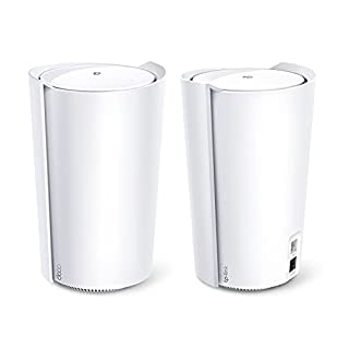 TP-Link Deco Tri-Band WiFi 6 Mesh System(Deco X90) - Covers up to 6000 Sq.Ft, Replaces Routers and Extenders, AI-Driven and Smart Antennas, 2-Pack (B08Z2XXFFW)   Amazon price tracker / tracking, Amazon price history charts, Amazon price watches, Amazon price drop alerts
