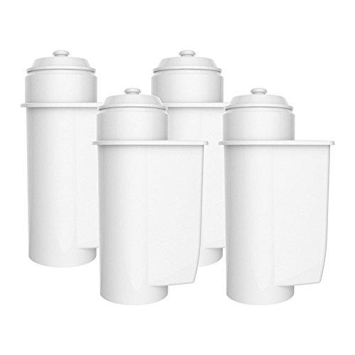 FilterKraft FK-ECF-7001A wkład filtra wody do ekspresu do kawy Brita Intenza 467873, 00575491; Siemens TZ70033, TCZ7003, TZ70003, EQ. 5, 6, 7; Bosch 12008246, 00576335; Neff & G; aggenau (4 )