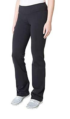 Kirkland Signature Ladies' Pull On Active Pant (Black, S-Tall)