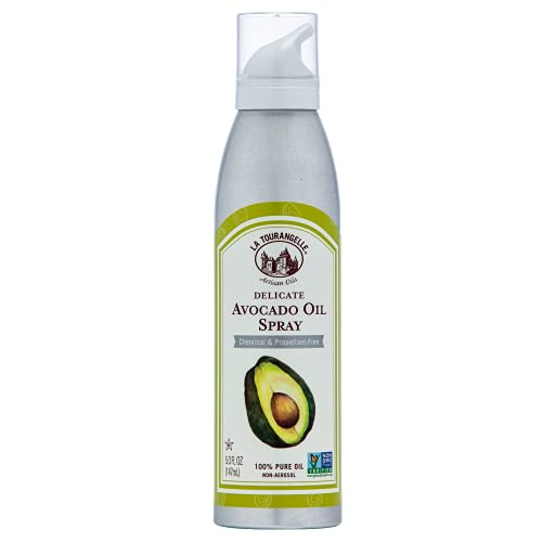 La Tourangelle, Avocado Oil Cooking Spray, 5 Ounce (Packaging May Vary)