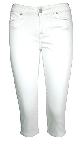 MUSTANG Capri Damen Jeans Jasmin weiß perfekt für den Sommer Größe W34