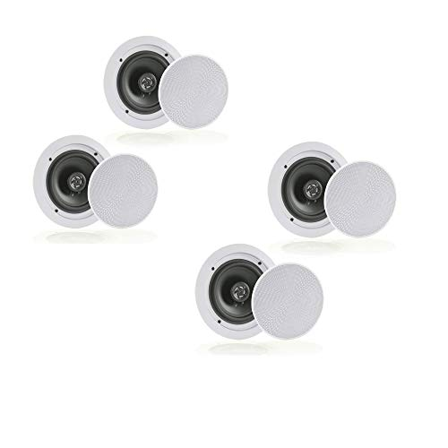 Pair Bluetooth In-wall In-ceiling 2-Way Speaker System