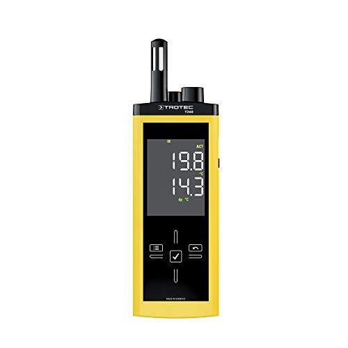 TROTEC T260 Infrarot-Thermohygrometer Lufttemperatur relative Feuchte messen Messgerät digital