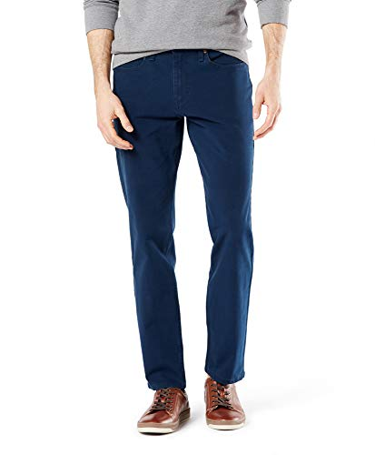 Dockers Big And Tall Ultimate Jean Cut With Smart 360 Flex,Azul,46X32