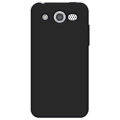 Amzer Silikon-Schutzhülle für Huawei Mercury M886, Schwarz