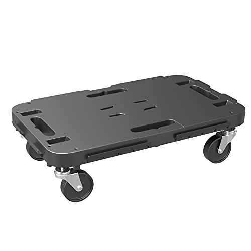 """Goplus Furniture Moving Dolly with 4 Wheels, Rolling Mover with Interlocking System for Heavy Objects, 660 lbs Weight Capacity (1, 19"""" x 11"""" (L x W))"""
